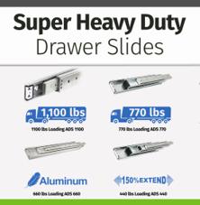 Button - Super Heavy Duty Drawer Slides