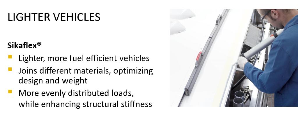 Lighter Vehicles slide
